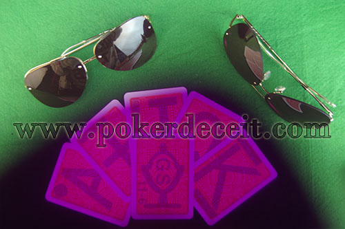 Luminous Ink Reader - Marked Cards Sunglasses