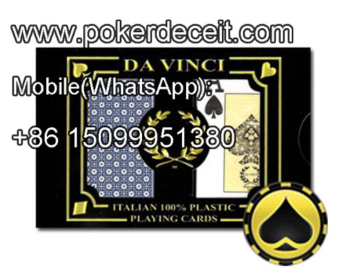 Da Vinci Neve magic marked deck