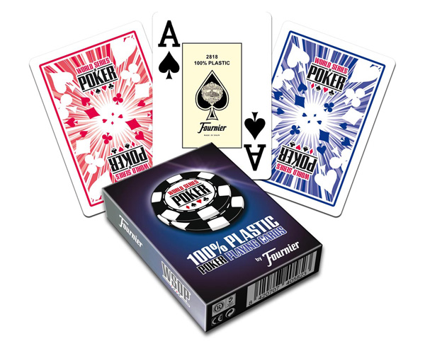 fournier WSOP marked deck
