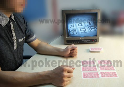 Infrared Marked playing cards cheating