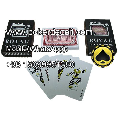 Invisible ink Taiwan royal marked cards