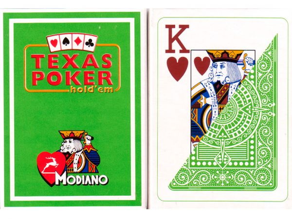 modiano texas holdem marked decks