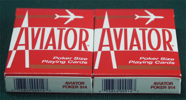 aviator marked cards