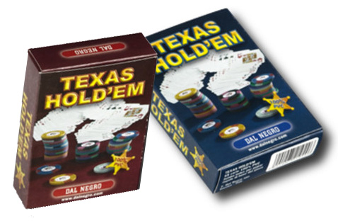 dal negro texas holdem marked deck