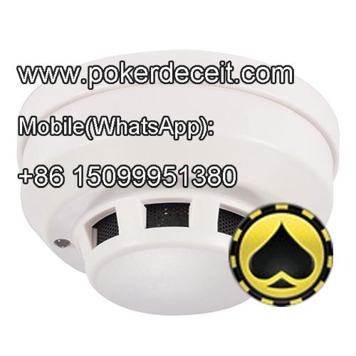Smoke detector poker scanner with HD poker camera lens
