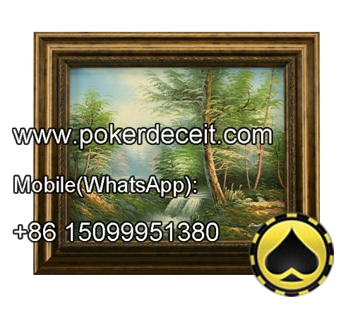 Wall Painting Playing Cards Scanning Camera